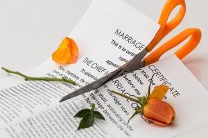 Podział w rodzinie - problem rozwodu